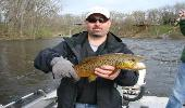 brown trout flyfishing outfitter mi guide